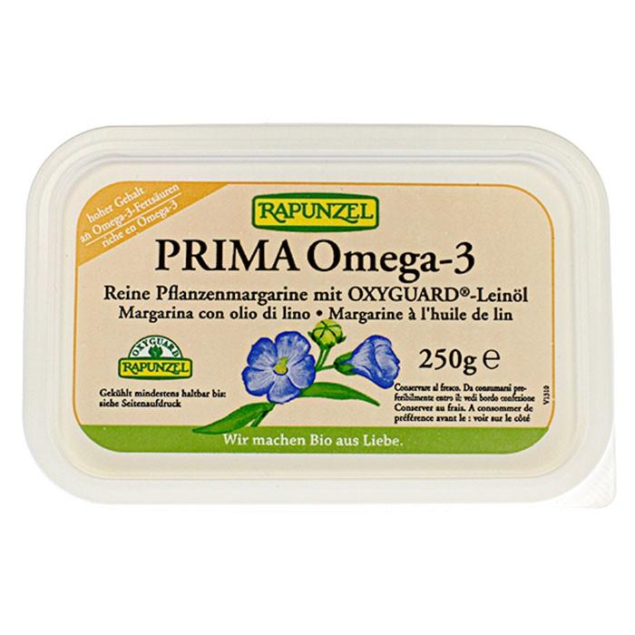 bio produkt pflanzenmargarine prima omega 3 mit lein l rapunzel naturkost. Black Bedroom Furniture Sets. Home Design Ideas